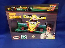 Indianapolis Indy 500 1996 TONY STEWART Menards Racing HERO CARD NOS!