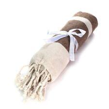 Articles et textiles marron coton pour la salle de bain