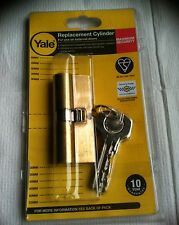 YALE MAXIMUM SECURITY REPLACEMENT CYLINDER PKM3030-PB(30mm) & PKM3535-NP(35mm)