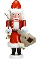 Nussknacker Weihnachtsmann rot, 38 cm hoch, original Erzgebirge v.. SV 11231 NEU