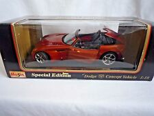 MAISTO SPECIAL EDITION DODGE CONCEPT VEHICLE 1:18 SCALE MINT IN BOX