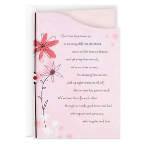 Hallmark We Pick Up Right Where We Left Off Friendship Card