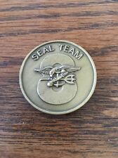 AUTHENTIC SEAL Team Eight Naval Special Warfare NSW 8 Navy Challenge Coin