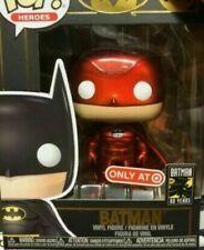 Funko Pop Target Exclusive Red Suit Batman confirmed W/ POP PROTECTOR