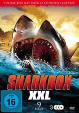 9 Hai Horreur Films SHARKBOX XXL Ghost Shark SHARKNADO Jurassic Boîte DVD