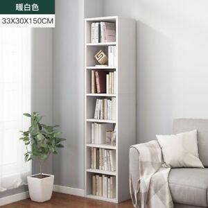 Thin Kitchen Storage Cabinet Display Bookcase Bookshelf Cube Shelving Sideboards