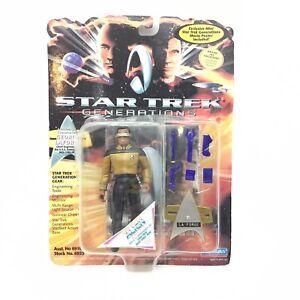 1994 Star Trek Generations Lt Commander Geordi Laforge Playmates Action Figure