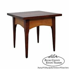 Studio Hand Crafted Solid Walnut Small Splayed Leg Side Table