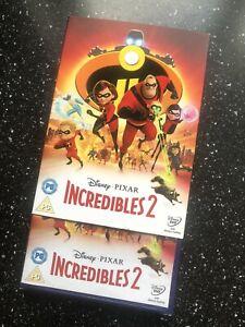 Incredibles 2 (DVD, 2018)