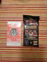 (1)2019-2020 Panini Basketball Contend Fat Packs,(1)panini mosaic pink camo pack