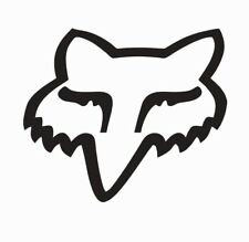 Fox Racing Fox head MX Motocross Vinyl Die Cut Car Decal Sticker - FREE SHIPPING