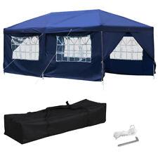 10x20' Easy Pop up Canopy Gazebo Pavilion Wedding Party Tent BBQ Outdoor Garden