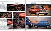 Rover Cars Oct 1992-Jan 1993 UK Brochure Mini Metro Maestro Montego 200 400 800
