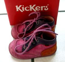 Chaussures Kickers quadricolores fille Taille 23