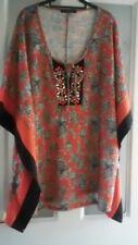Plus size ladies kimono top,size 22/24 with bead detail new without tags