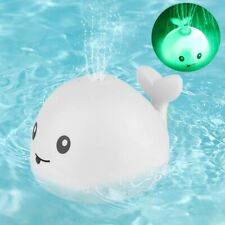 2 In 1 Bathroom Water Spray Toy Light Up Bath Tub Toys Water Sprinkler Pool Toy