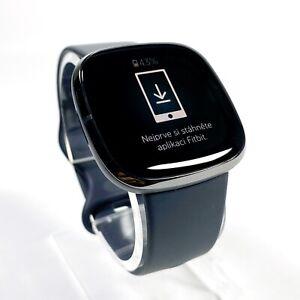Fitbit Sense Advanced Activity Tracker Smartwatch - Carbon/Graphite (VGC)