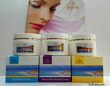 3 Dead Sea Mineral SPA Cream Anti-Wrinkle, Night, Eye Care & Beauty Line Israel