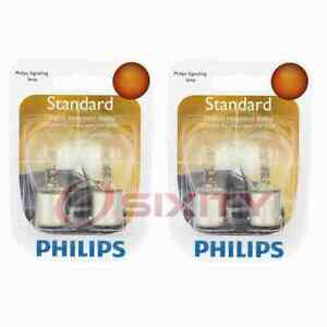 2 pc Philips Back Up Light Bulbs for Mitsubishi 3000GT Cordia Diamante zu