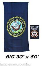 Us U. S. Navy Eeuu Licencia Oficial Bandera Grande Baño Piscina Playa Toalla