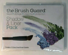 The Brush Guard Shadow & Liner Pack 10 Extra Small Makeup Brush Guards NEW