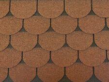 Dachschindeln 3 m? Biberschindeln Braun (21 Stk) Schindeln Dachpappe Bitumen