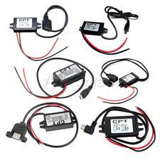 Mini/Micro/A type Single USB Converter DC-DC 12V to 5V Step Down Power Module