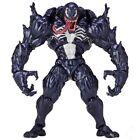 Yamaguchi Venom Action Figure Black Spiderman Movie Revoltech Marvel Toy Boxed For Sale