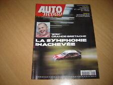 Auto hebdo N°1513 RKSpyder.WRC Grande Bretagne