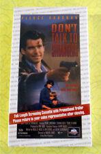 Don't Talk To Strangers ~ New VHS Movie Screener Promo Demo Video Pierce Brosnan