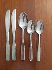 Reed & Barton Select FIDDLER II Stainless Flatware Soup Spoon Teaspoon Knife