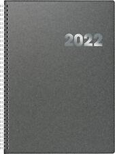 BRUNNEN Buchkalender 2021 A5 Metallico SW 1s/1t