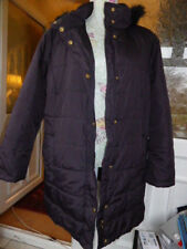 WINDSMOOR QUILTED HOODED COAT SIZE LARGE