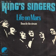"""KING'S SINGERS – Life On Mars (1975 SINGLE 7"""" RARE COVER DAVID BOWIE SONG)"""