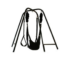 Fantasy Sex Swing Stand With Wrist restraints Clamp belt for couples for Yoga