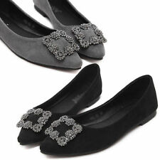 Synthetic Leather Floral Ballet Flats for Women