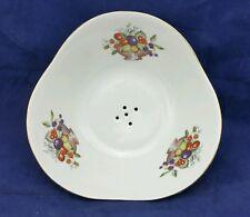 """Vintage Porcelain Colander Strainer Pattern 53805, CHODZIEZ of Poland 8.5"""" x 3"""""""