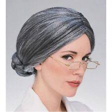 Old Lady Grey Wig Fairy Tales Plays Theatre Panto Xmas Hair Styles R50830