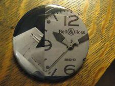 Bell & Ross Swiss BR03-92 Watch Airplane Advertisement Pocket Lipstick Mirror