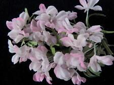 "Vintage Millinery Flower Pink Doll size 1/2"" Bloom Cluster Hat Wedding Hair Z22a"