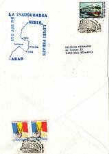 RUMANIA 1991 RAILWAY ANNIVERSARY FIRST DAY COVER SHS