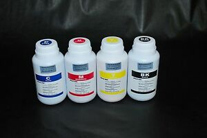 Eco Solvent ink for Roland, Mimaki, Mutoh 4 x 250ml.  US Fast shipping