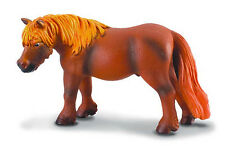 CollectA 88164 Chestnut Shetland Pony Toy Backyard Model Horse Replica -  NIP