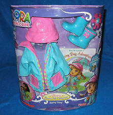 FISHER PRICE DORA THE EXPLORER DRESS UP COLLECTION RAINY DAY NEW