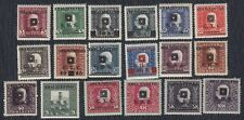 State SHS Bosnia 1919 Definitive stamps with overprint, MH