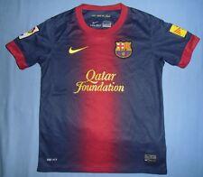 FC BARCELONA / 2012-2013 Home - NIKE - JUNIOR Shirt / Jersey. 8-10 y, 128-140 cm