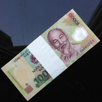 Bundle Lot 100 PCS, Vietnam 10000 Dong, 2011-2020, P119, Polymer, Banknotes, UNC
