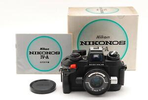 *NEAR MINT IN BOX* NIKON NIKONOS IV-A Underwater Camera w/35mm F/2.5 Lens #JAPAN