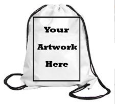 Personalized Nylon Custom Drawstring Backpacks Wholesale