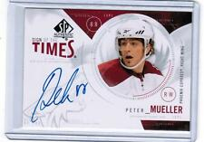 2009-10 SP Authentic Sign of the Times Peter Mueller Auto